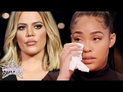 Khloe Kardashian disses Jordyn Woods!   Jordyn cries on the