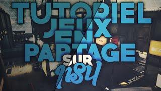 TUTO : JEUX EN PARTAGE PS4