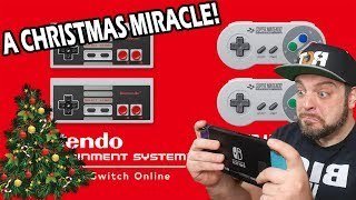 A Nintendo Switch Online Holiday MIRACLE! NEW NES And SNES Games!