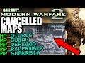 MW2'S SECRET Canceled Maps - Modern Warfare 2 DELETED Multiplayer   Oilrig, Gulag, Vertigo, etc...
