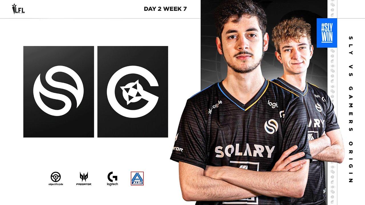 SOLARY VS GO   LFL 2021 SPRING SPLIT - DAY 2 - WEEK 7