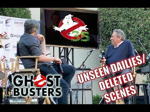 GHOSTBUSTERS FANFEST 2019 - Jason & Ivan Reitman - FULL PANEL Movie Dailies Footage, Deleted Scenes