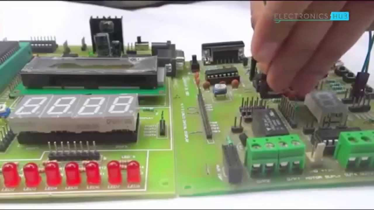 hight resolution of 2 digit up down counter circuit using 7 segment displays with circuit diagram