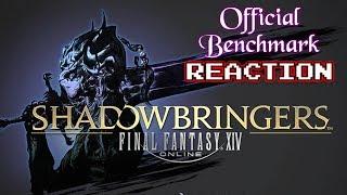 FFXIV Shadowbringers Benchmark - Krimson KB Reacts