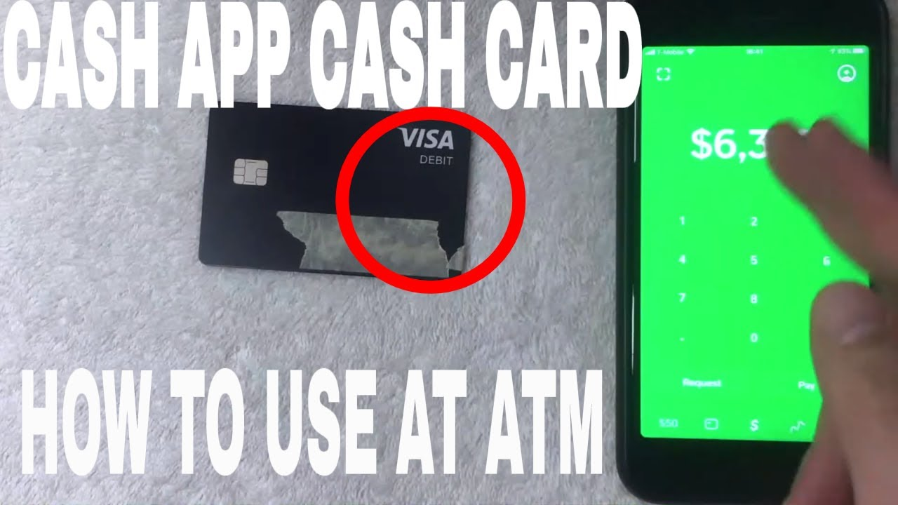 can the cash app card be used at an atm