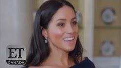 Meghan Markle Reveals Wedding Dress Secrets
