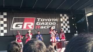 TOYOTA GAZOO Racing PARK in イオンモール福津 で行われたライブの様子...