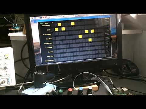 Raspberry Pi MIDI Drum Sequencer