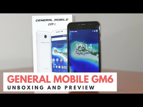 General Mobile GM6 - Unboxing and Quick Preview
