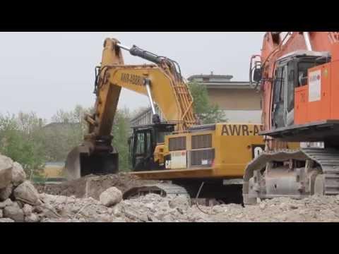 AWR-Abbruch CAT 390D