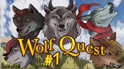 Wolf Quest #1 - Meet The Pack / Let's Make Pups! (Multiplayer Gameplay)