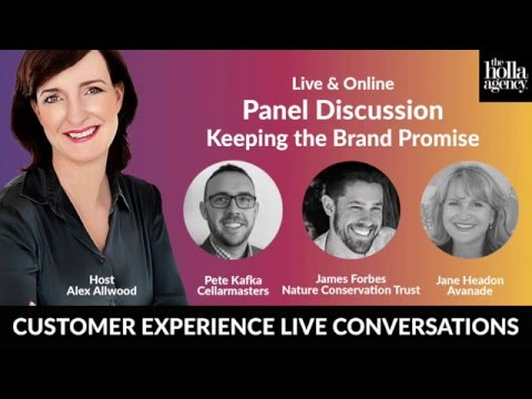 CX LIVE Episode #3 Keeping the Brand Promise
