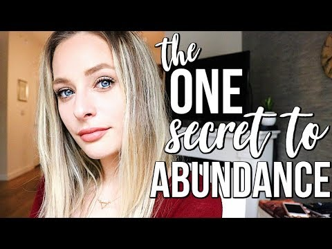 LAW OF ATTRACTION SECRET TO ABUNDANCE  Gratitude Tips + Benefits  Renee Amberg