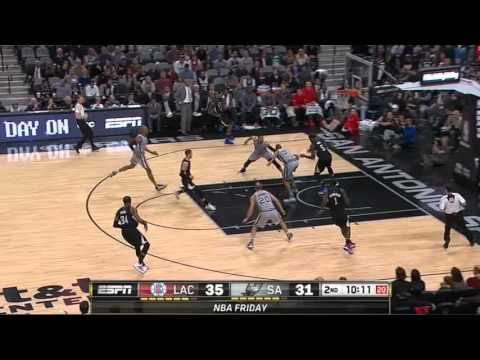 Deja Vu Josh Smith David West Spurs vs  Clippers 12 19 15
