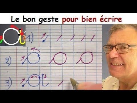 Ecriture Francaise Gs Cp Ce1 Comment Bien Ecrire La Lettre A 1 Youtube