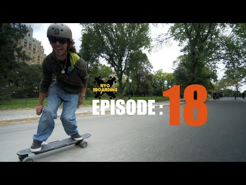 The NYC Electric Skateboard Crew - Episode 18 Raptor 2 in New York Part 1