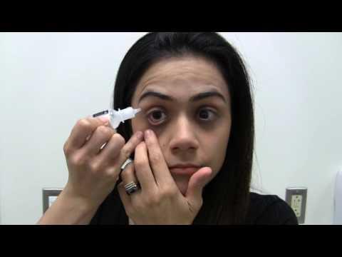 Methods for Instilling Eye Drops