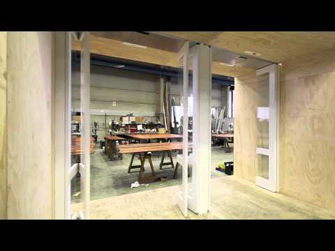 Automatic Timber Bi Fold Doors Youtube