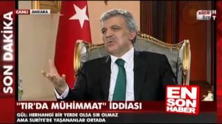 Abdullah Gül'ün TIR cevabı Ruşen Çakır'ın moralini bozdu