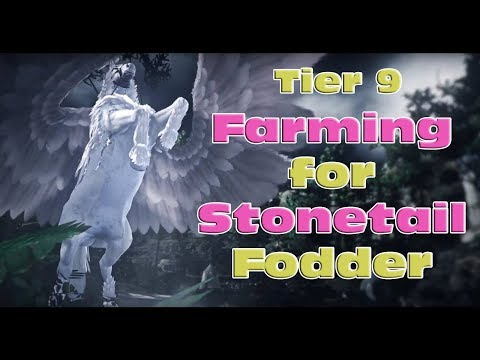 How to Farm for Stonetail Fodder - Tier 9 Horse Awakening