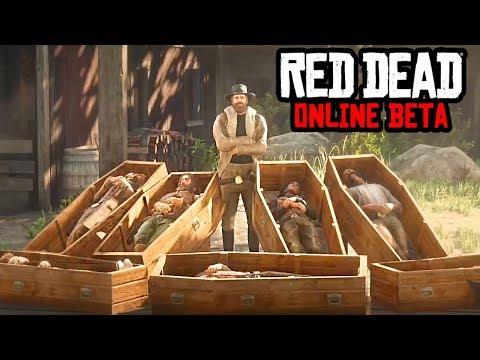 Вот ТАК Надо ДЕЛАТЬ Онлайн Игры!! RED DEAD ONLINE Beta