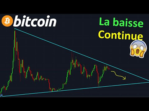 BITCOIN CA VA CRASHER, FAITES ATTENTION !? btc analyse technique crypto monnaie