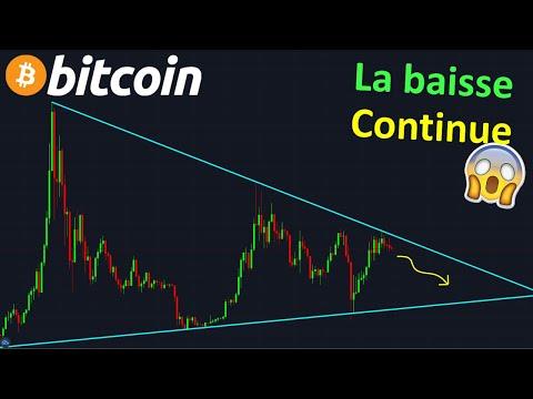 BITCOIN CA VA CRASHER, FAITES ATTENTION !? btc analyse technique crypto monnaie