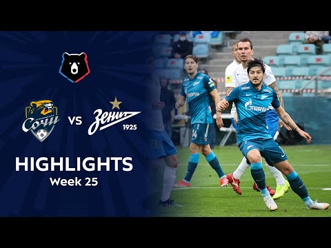 Sochi Zenit Petersburg Goals And Highlights