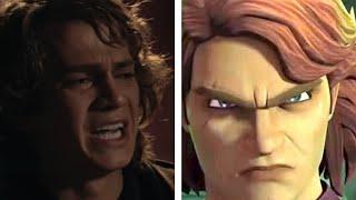 Download Mp3 Star Wars What Have I Done Hayden Christensen vs Matt Lanter Anakin Comparison Clone Wars S7Ep11