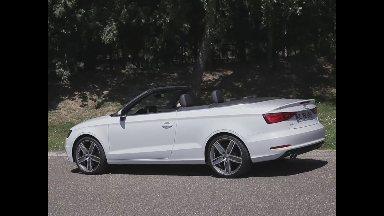 essai audi a3 cabriolet 1 8 tfsi 180 s tronic 7 ambition 2014 youtube. Black Bedroom Furniture Sets. Home Design Ideas