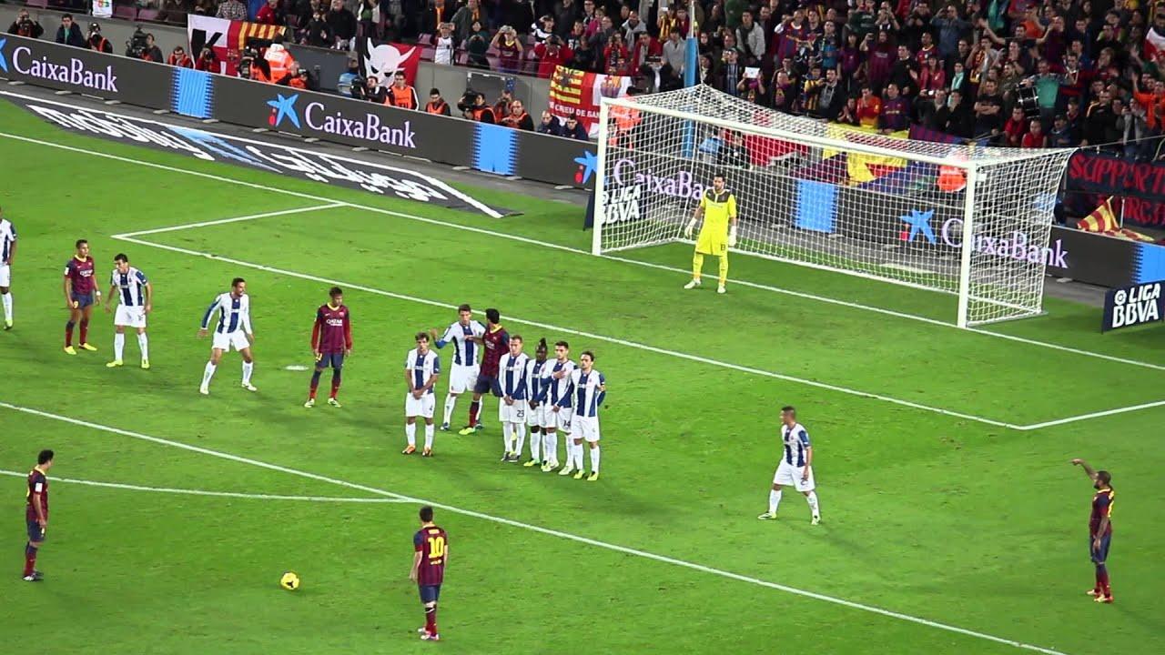 Lionel Messi - 7 Farklı Müsabakada Frikik Golü | Yeni Dünya Rekoru • HD