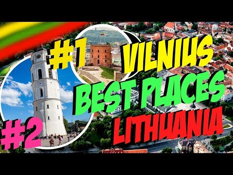 VILNIUS. Lithuania. BEST PLACES TO VISIT. FULL ROUTE WITH DISCRIPRTION.