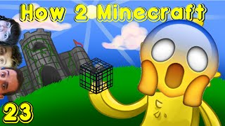 Minecraft: H2M Ep. 23 | Choco Under Siege! Skelly Farm Setup