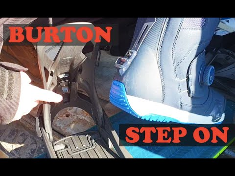 Burton Step On TEST. Честный обзор креплений. Сравниваем с Union Strata. Комментарии за и против!
