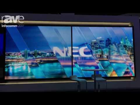 InfoComm 2017: Keith Kayye of NEC Display gives Gary Kayye the Ultimate Booth Tour