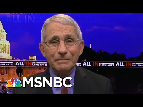 Dr. Fauci: Bars And Restaurants Should Stay Closed In Most Places | All In | MSNBC