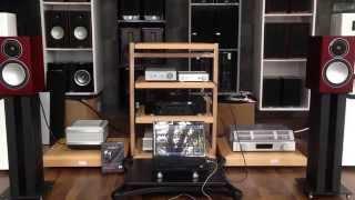 monitor Silver 1  Rega brio-r  TEAC UD-301