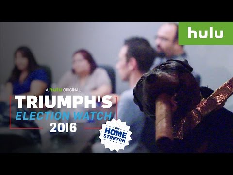 Trump and Clinton Supporters React to Shocking Revelations • Triumph on Hulu
