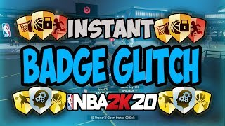 NBA 2K20 Instant Badge Glitch (PS4 & XBOX) | Demigod Badge Glitch After Patch 1.07