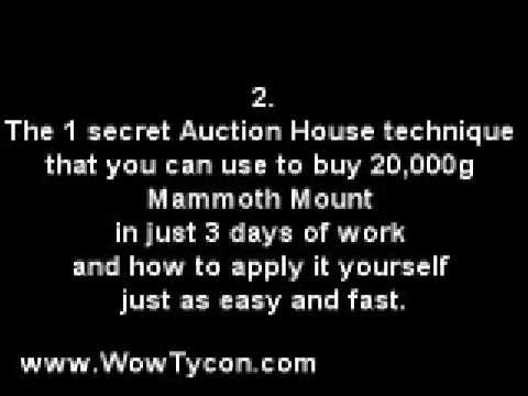 The World of Warcraft Tycoons GOLD MAKING HANDBOOK 2009  - Why Is This Guide So Important?