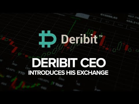 Interview with John Jansen, CEO of Deribit, Bitcoin Options and Futures Exchange