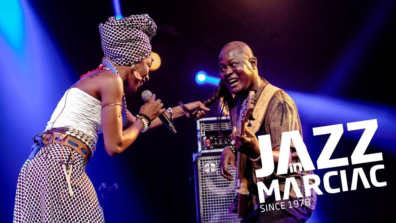 """Fatoumata Diawara """"Bonya"""" @Jazz_in_Marciac 2018"""