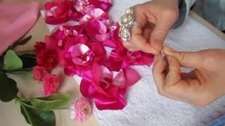 видео Мастер класс изготовления из шелка