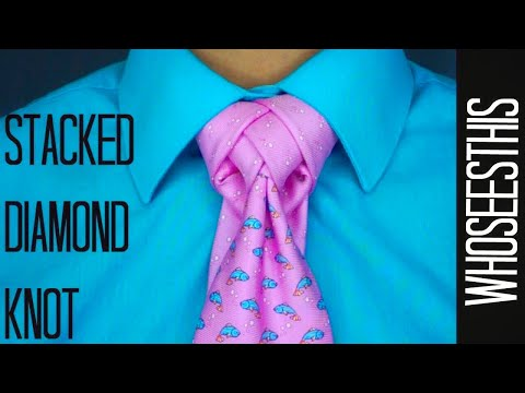 The Stacked Diamond Knot