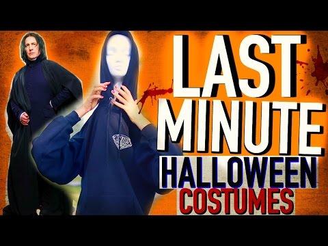 {LAST-MINUTE SCARY} Halloween Costume Ideas!