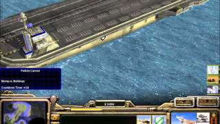 Command and Conquer: Generals Zero Hour  Destroying Aircraft Carrier
