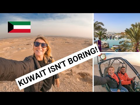 PLACES TO VISIT IN KUWAIT CITY & DESERT! | Living like a Kuwaiti Vlog!