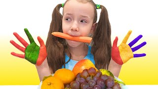 Lunch Song | 동요와 아이 노래  어린이 교육 Ulya Liveshow