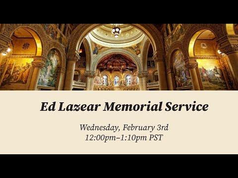 Ed Lazear Memorial Service