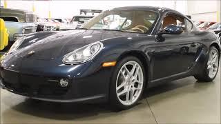 2011 Porsche Cayman blue